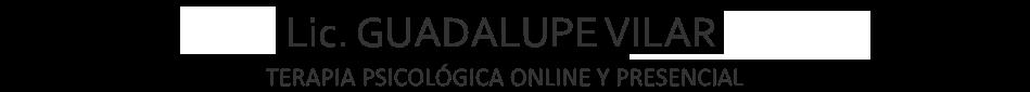 GUADALUPE VILAR - Atención terapeútica
